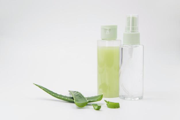Aloe vera in cosmetics